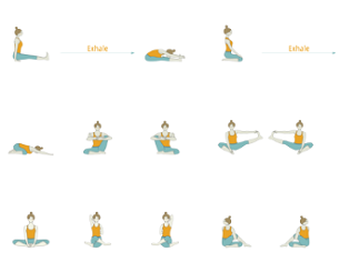Hip Opening Yoga Sequence with Peak Pose One Legged King Pigeon Pose