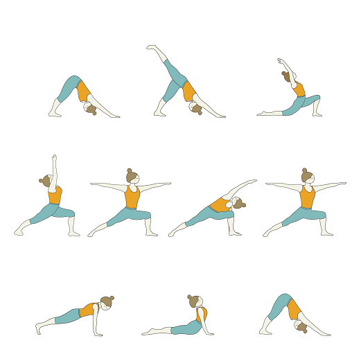 yoga sequences builder