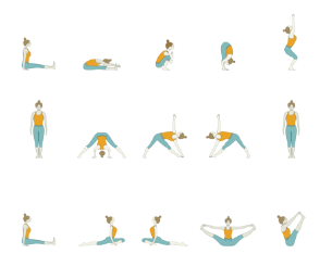 Yoga Sequence for Balancing 7 Chakras