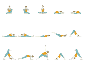 Yoga Sequence for Runners (Warm Up)