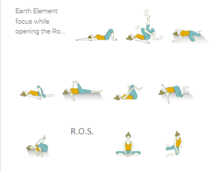 Vinyasa Yoga Sequence: Earth and Space Element Yoga Poses