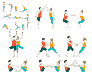Partner Yoga Sequence - Yoga Sequences for Teenagers with Partners