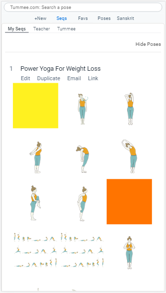 Yoga Sequence Builder For Teachers To Plan Classes